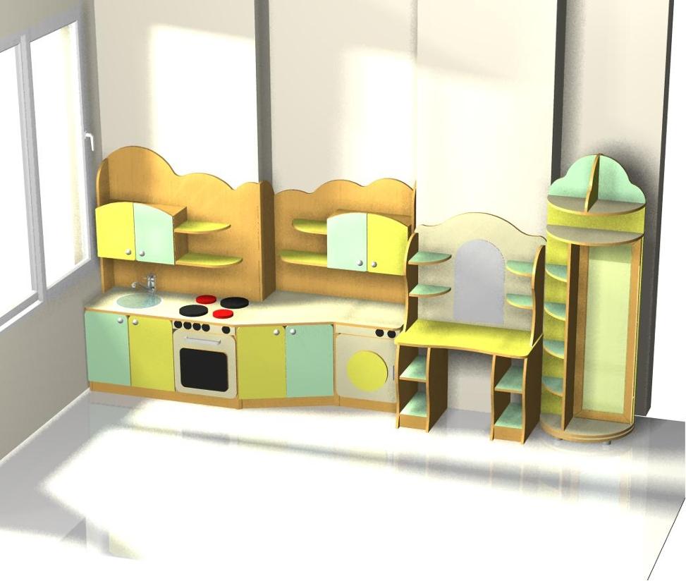 Персональный сайт - мебель в детский сад.